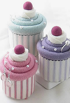 Cupcake Jewellery Pincushion Boxes