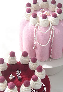 Blancmange & Cherry Jelly Jewellery Boxes