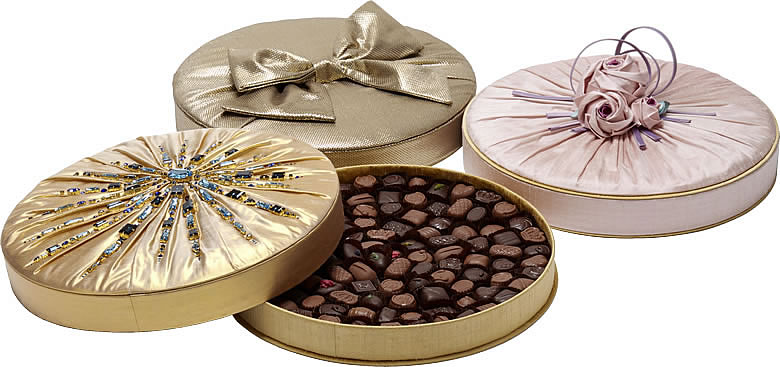 Charbonnel et Walker Limited Edition Couture Silk Chocolate Box Collection